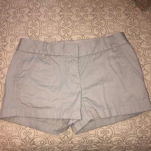 JCREW Grey Chino Shorts